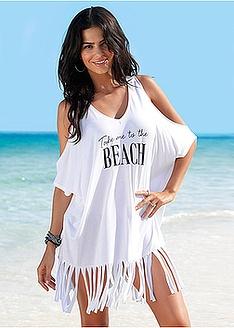 Μπλούζα με κρόσσια για την παραλία bpc selection bonprix collection 15 7dcf50c4327