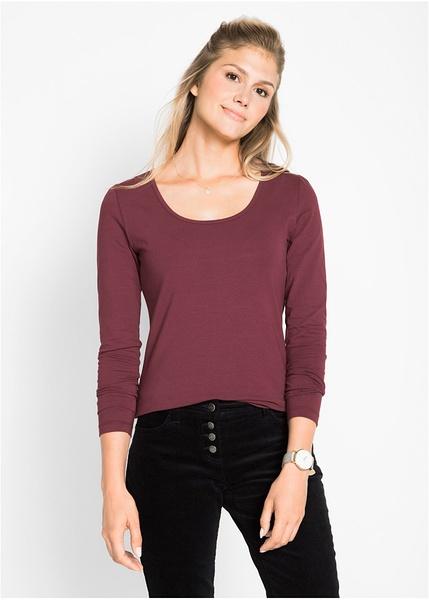 c4dbf03a4707 Ελαστική μακρυμάνικη μπλούζα-bpc bonprix collection