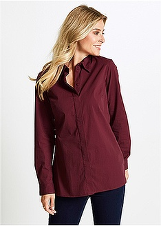 Μακρύ ελαστικό πουκάμισο bpc selection bonprix collection 19 d329fa44b03