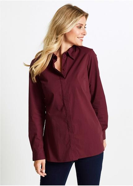 Μακρύ ελαστικό πουκάμισο-bpc selection bonprix collection a7165fdb186