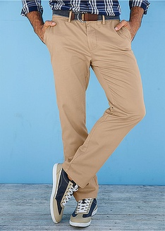 Παντελόνι chino regular fit-bpc bonprix collection