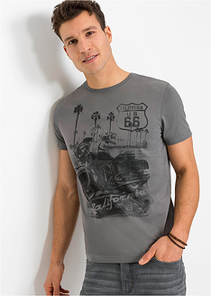 T-shirt με στάμπα regular fit-John Baner JEANSWEAR