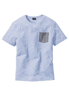 t-shirt-melanze-regular-fit-bpc bonprix collection
