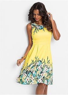 Φλοράλ φόρεμα BODYFLIRT boutique 33 a8a31e91594