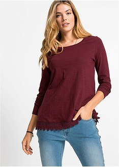 Μακρυμάνικη μπλούζα με δαντέλα RAINBOW 14 f426ac1ea63