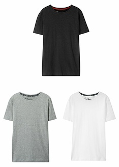 T-shirt basic (συσκευασία των 3)-bpc bonprix collection