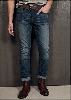 Ελαστικό τζιν slim fit tapered-John Baner JEANSWEAR