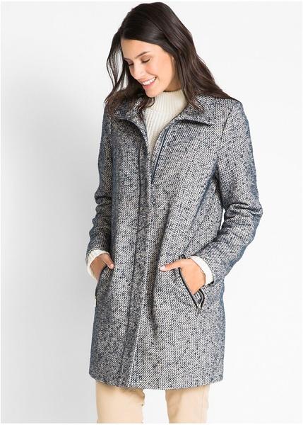 Φαρδύ παλτό με μάλλινη εμφάνιση-bpc bonprix collection f515059c685