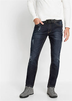 Ελαστικό τζιν slim fit straight-John Baner JEANSWEAR