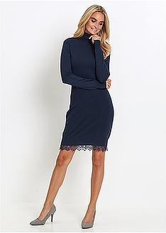efdfee2ce866 Πλεκτό φόρεμα με δαντέλα bpc selection bonprix collection 33