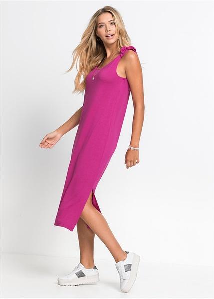 2474b09943da Φόρεμα ζέρσεϊ-RAINBOW