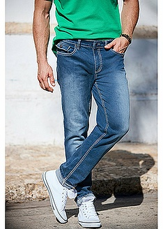 Ελαστικό τζιν regular fit straight-John Baner JEANSWEAR
