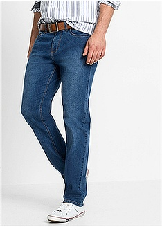Μαλακό ελαστικό τζιν regular fit straight-John Baner JEANSWEAR