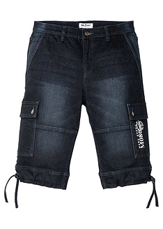 elastiki-tzin-bermouda-regular-fit-John Baner JEANSWEAR